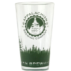 Appalachian 16 oz. Green Pint Glass