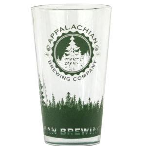 Appalachian 16 oz. Green Pint Glass