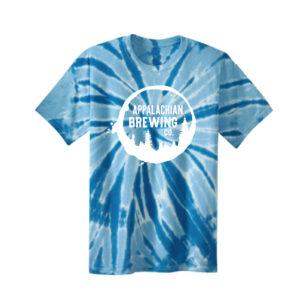 Appalachian Spiral Tie-Dye T-Shirt - Blue